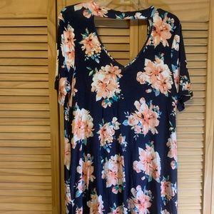 Collard Mini Dress